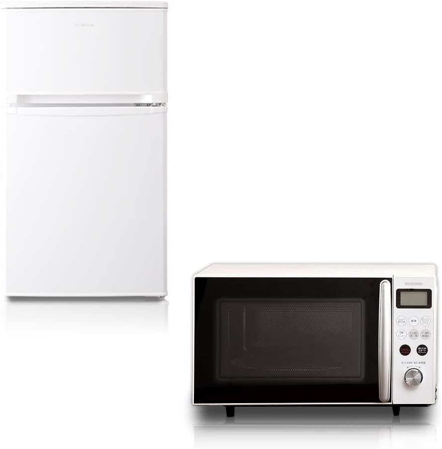 冷蔵庫電子レンジ2点セット